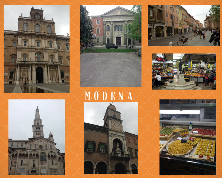 Modena in a snapshot